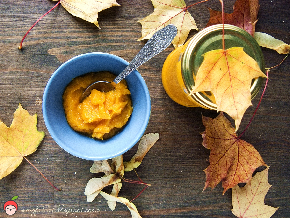 przepis na puree z dyni hokkaido pumpkin recipe