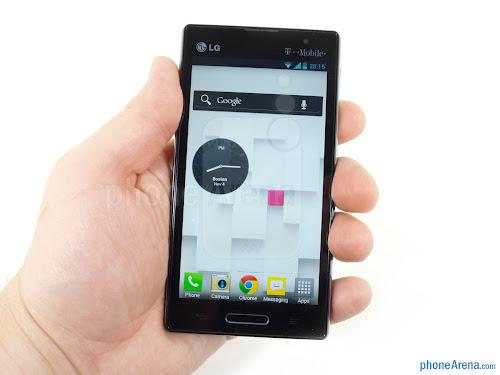 harga lg optimus L9, spesifikasi lengkap dan gambar hp optimus L9 terbaru, hp android desain ekren, smartphone android bisa menerjemahkan bahasa asing