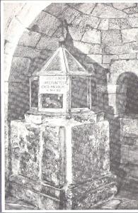 PREDAPPIO FONTE BATTESIMALE DI MUSSOLINI IL 30.07.1883