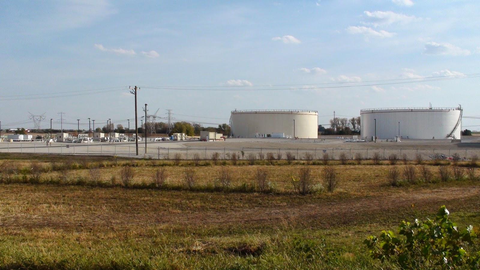 Illinois will county manhattan - Enbridge Tanks In Manhattan Illinois