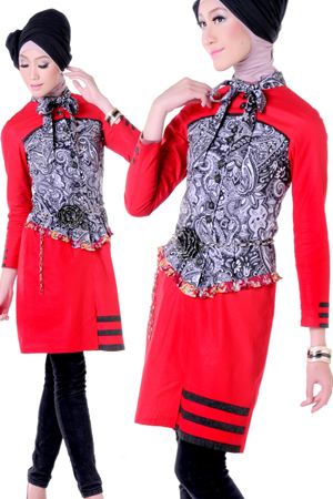Model Baju Muslim Terbaru 2013 - X-Fas | Tren Mode Fashion Terbaru