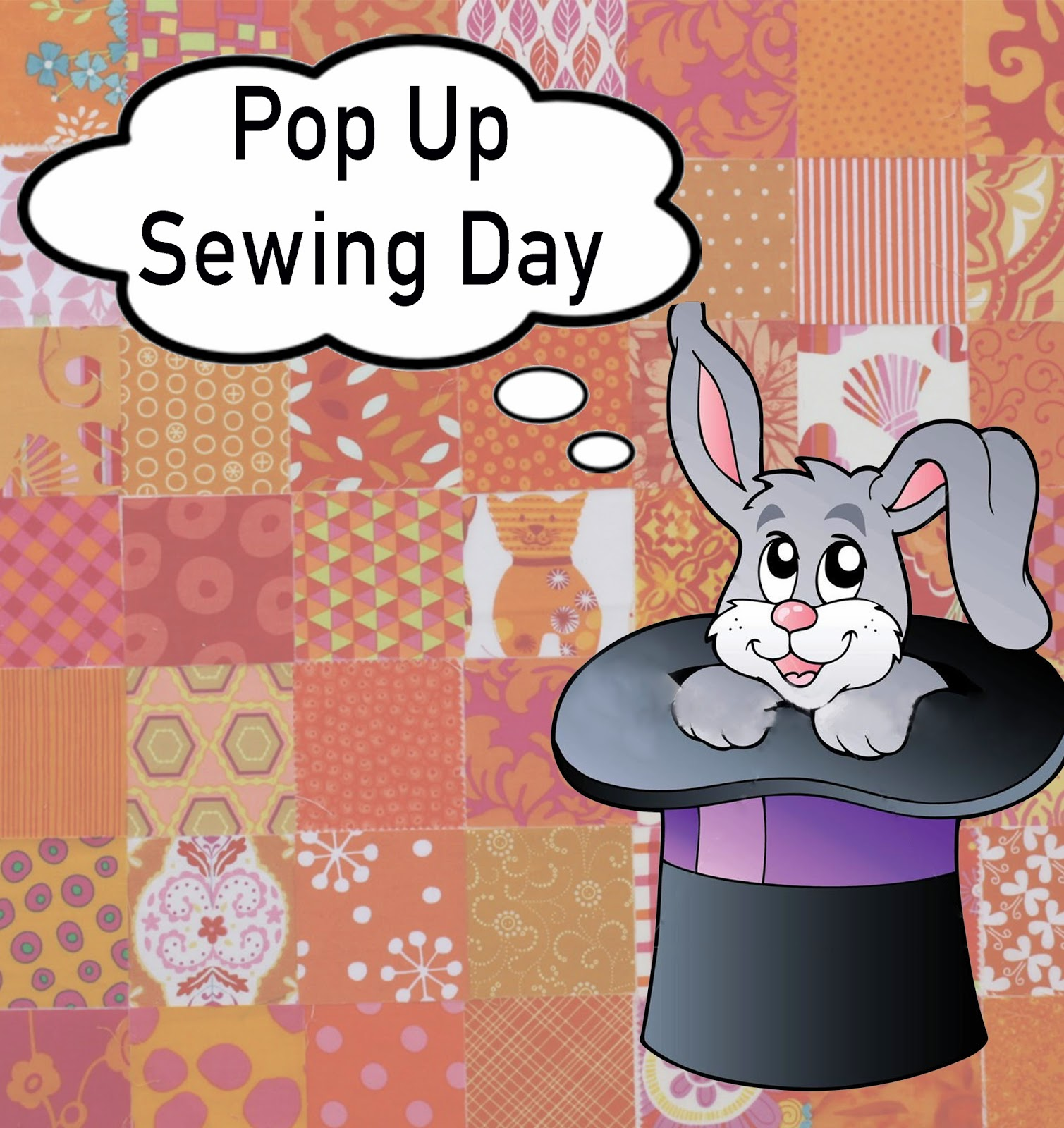 Quiltnsw blog pop up sewing day april 2015 for Call the easter bunny phone number