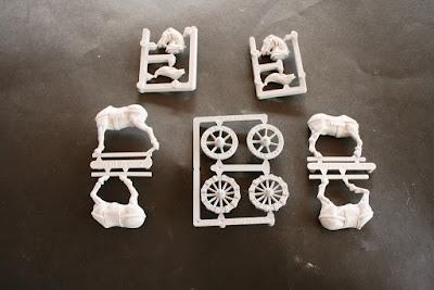 Piezas de plástico del High Elf Tiranoc Chariot