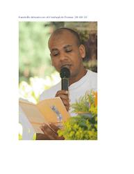 Lectura en el Festival de Poesía de la Montaña