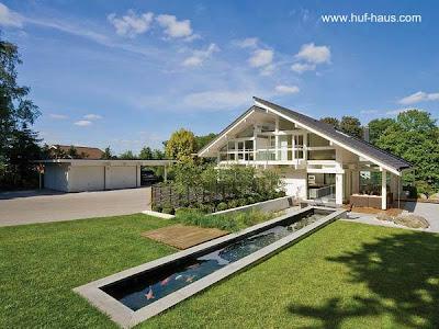 Residencia prefabricada de lujo europea