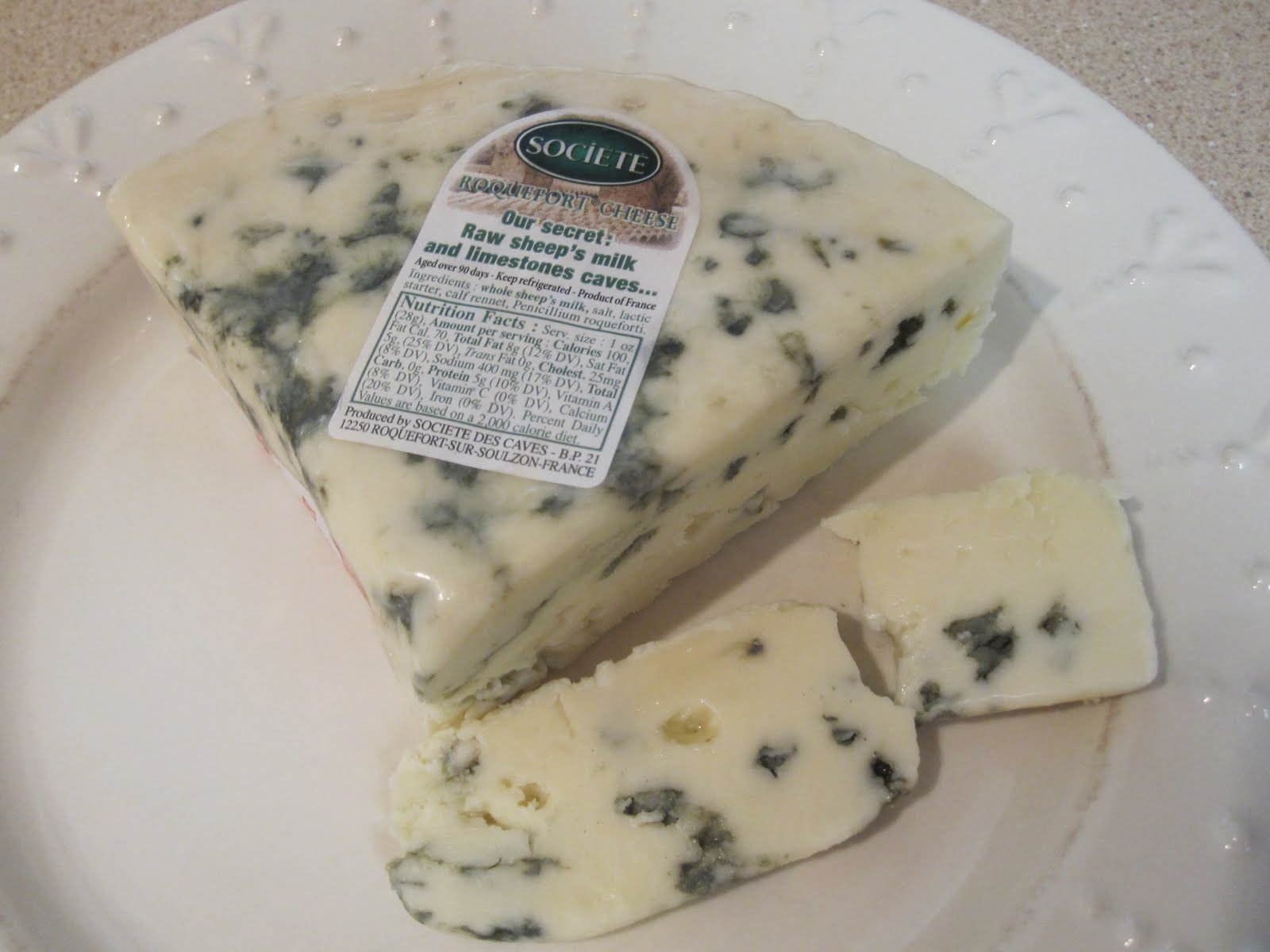 more than any other blue cheese ive tried it is moldy throughout
