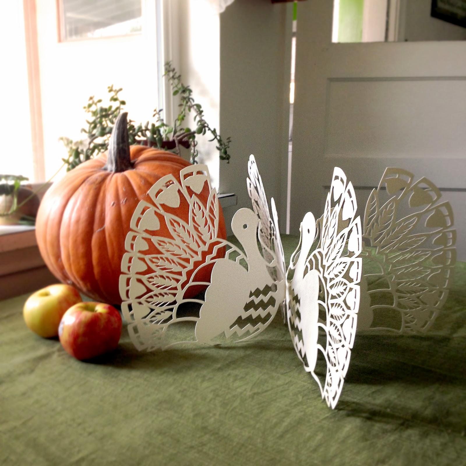 Scherenschnitte template tuesday turkey lurkey