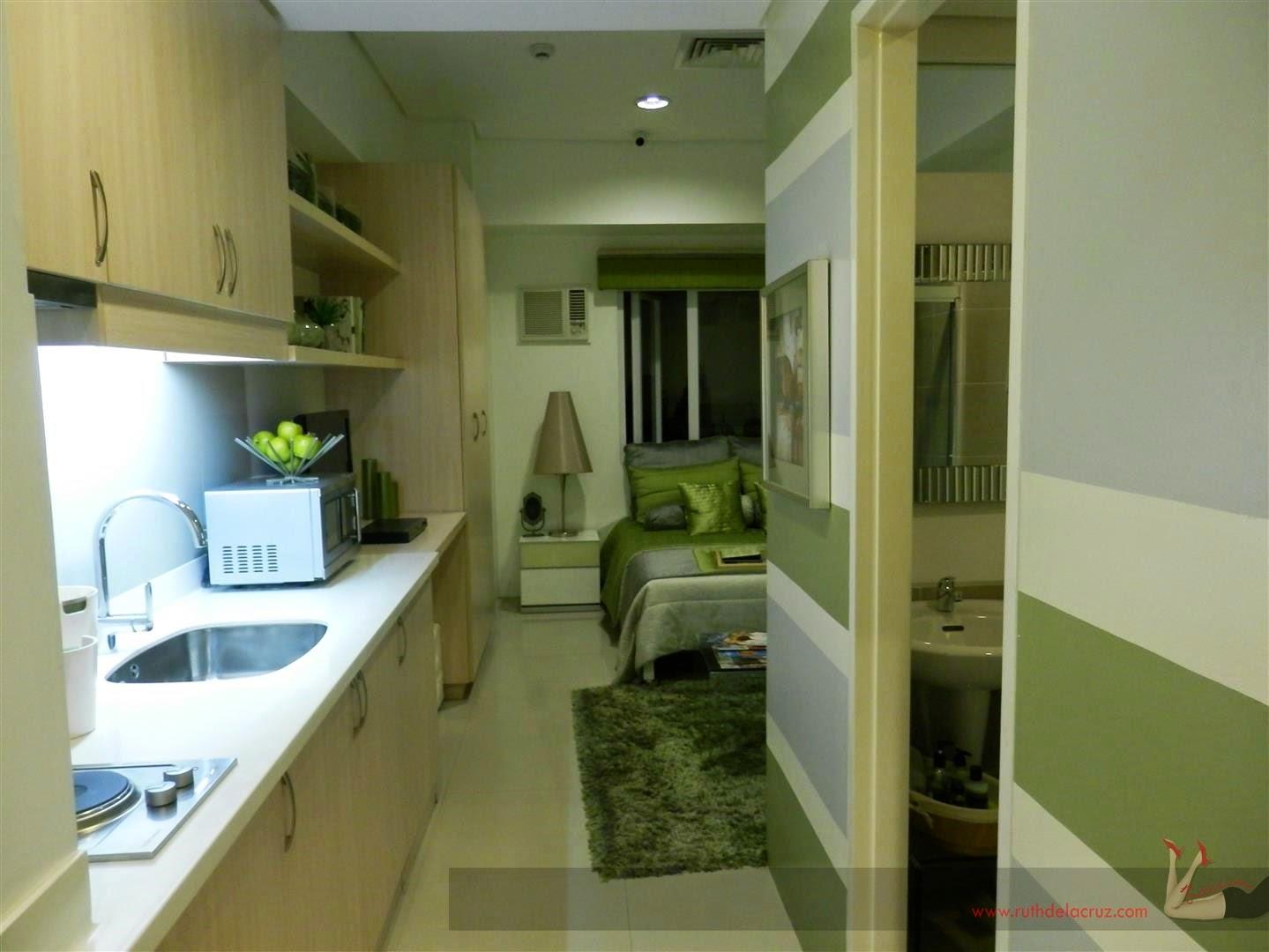 89 interior design one bedroom condo unit for Studio type condo design