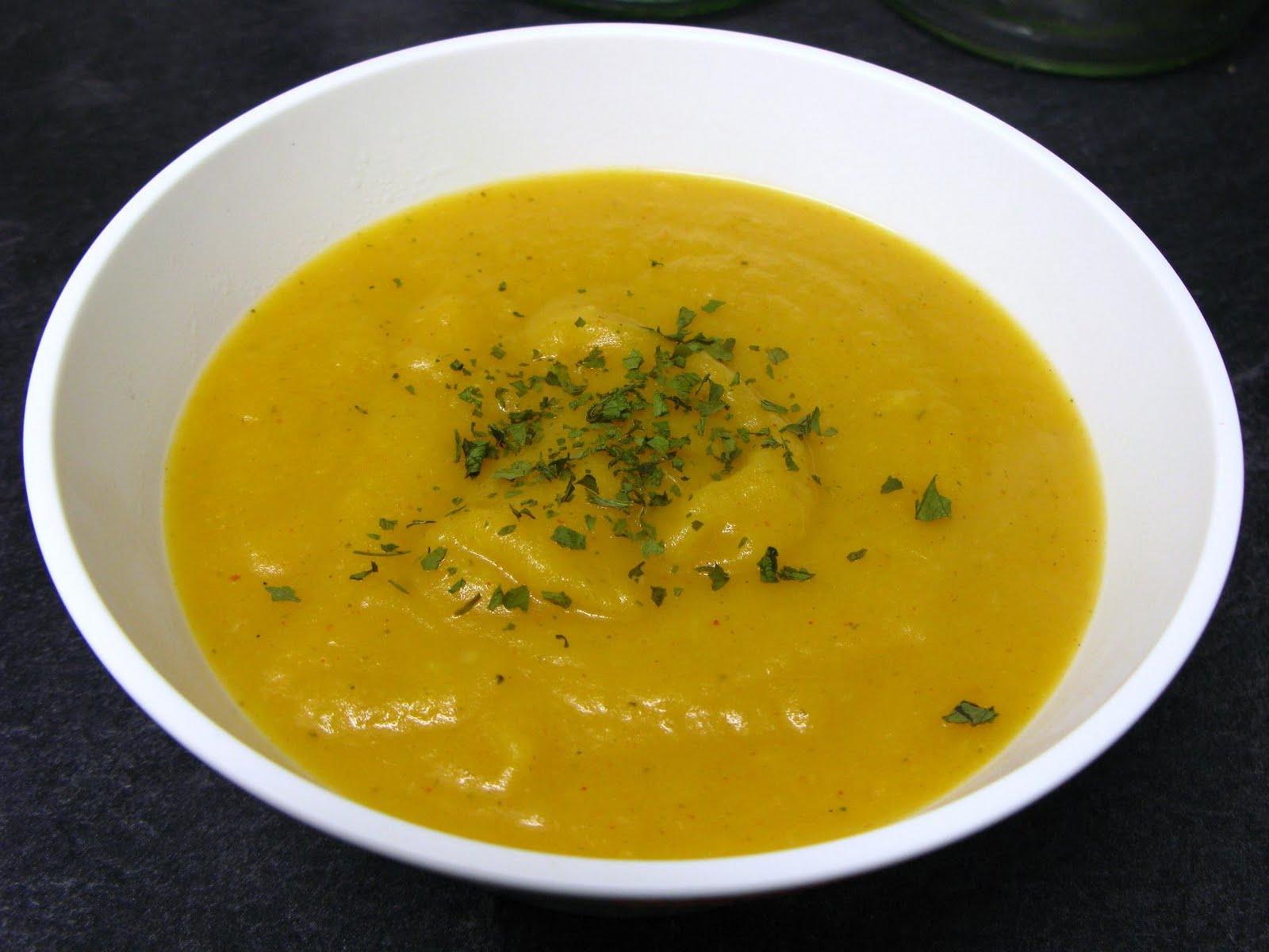 Disfruta de la cocina con marta pur de zanahoria con - Pure de patatas y calabaza ...