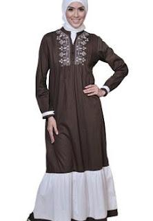 contoh baju gamis modern