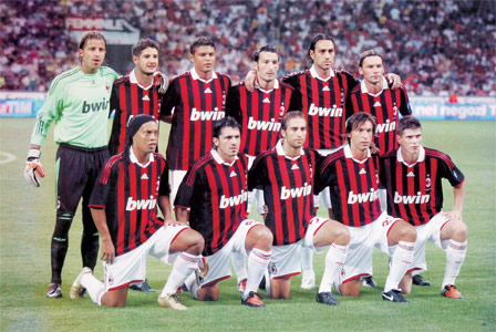 Sports and players ac milan football club for Ac milan club