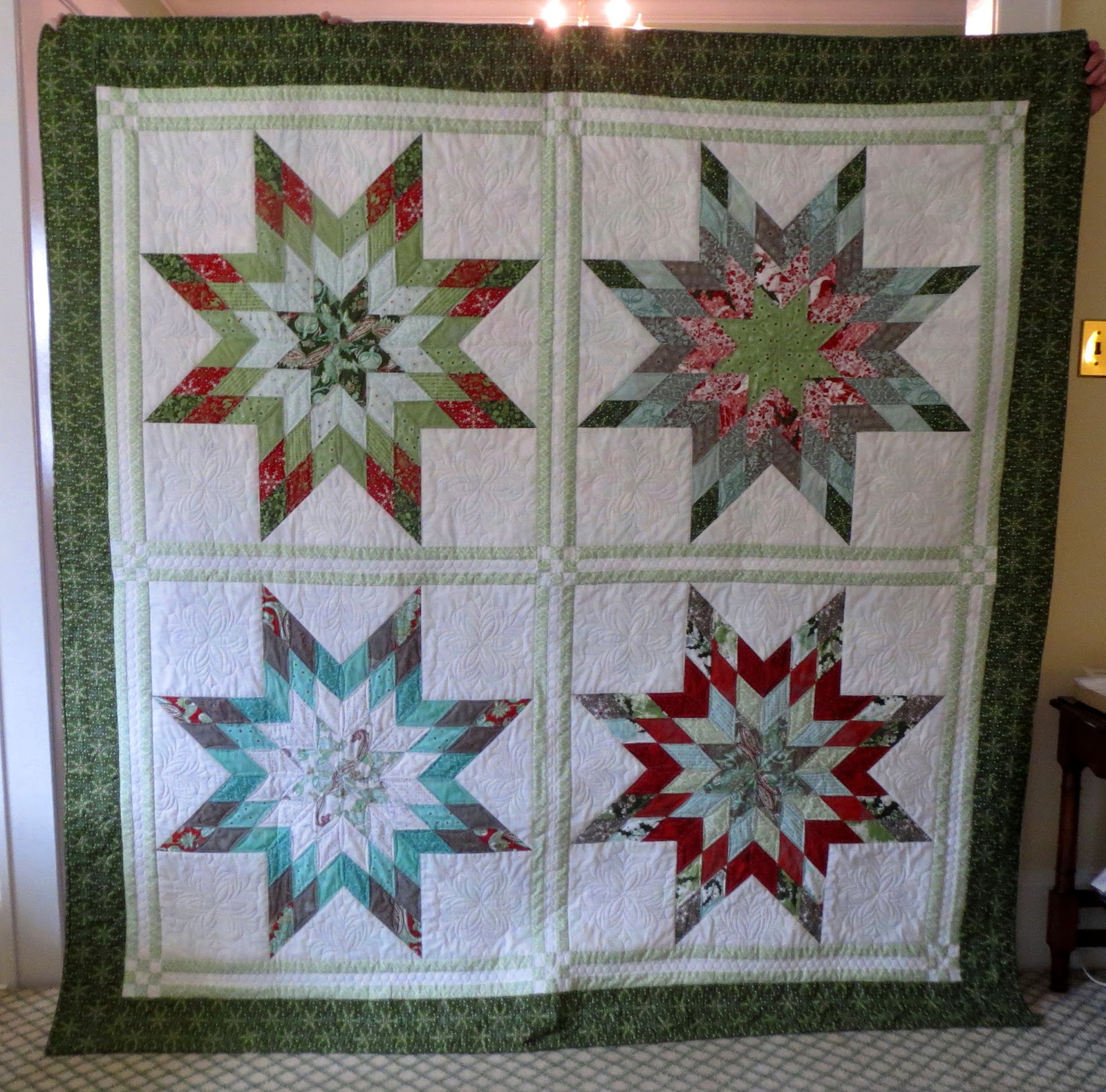 Quilting On Main Street Sparkle A Finish