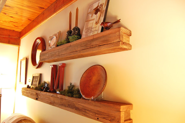 How to Build a Shelf Out of Old Barn Wood