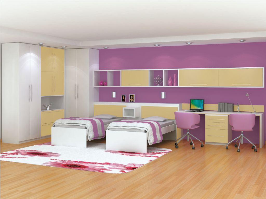 Dicas quarto de solteiro feminino Belas Artes ~ Quarto Planejado Infantil Italinea