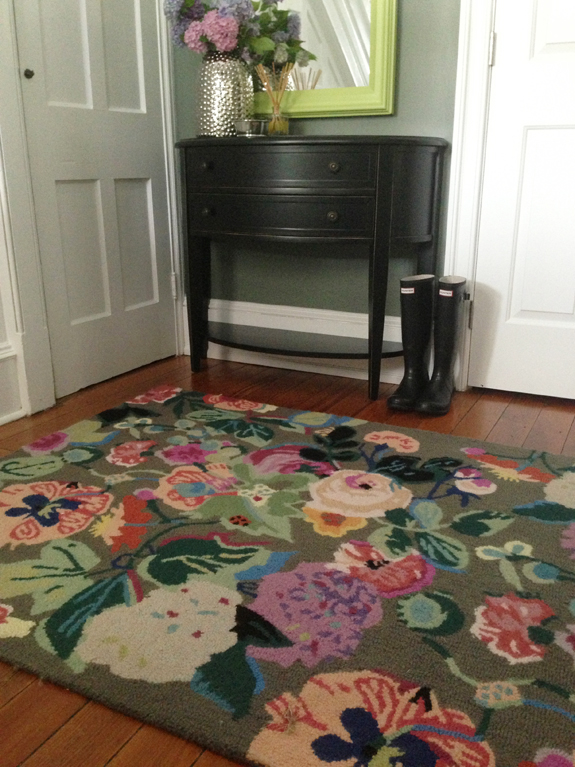 Even close up, it had a similar texture as my rug. Isnu0027t it pretty? Other  rugs in Home Goods ...