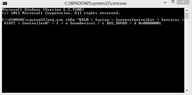 Sửa lỗi ổ đĩa (CD / DVD) không hiển thị trong Windows 8
