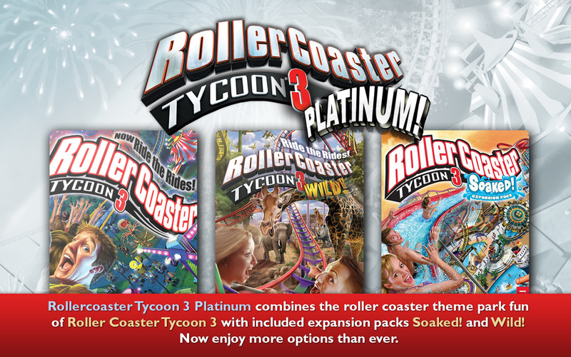 Rollercoaster tycoon 3 platinum free trial