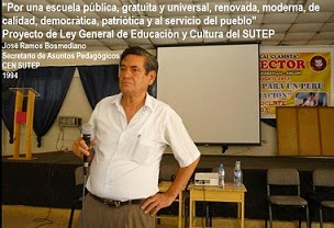 Proyecto de Ley de Educación y Cultura del SUTEP