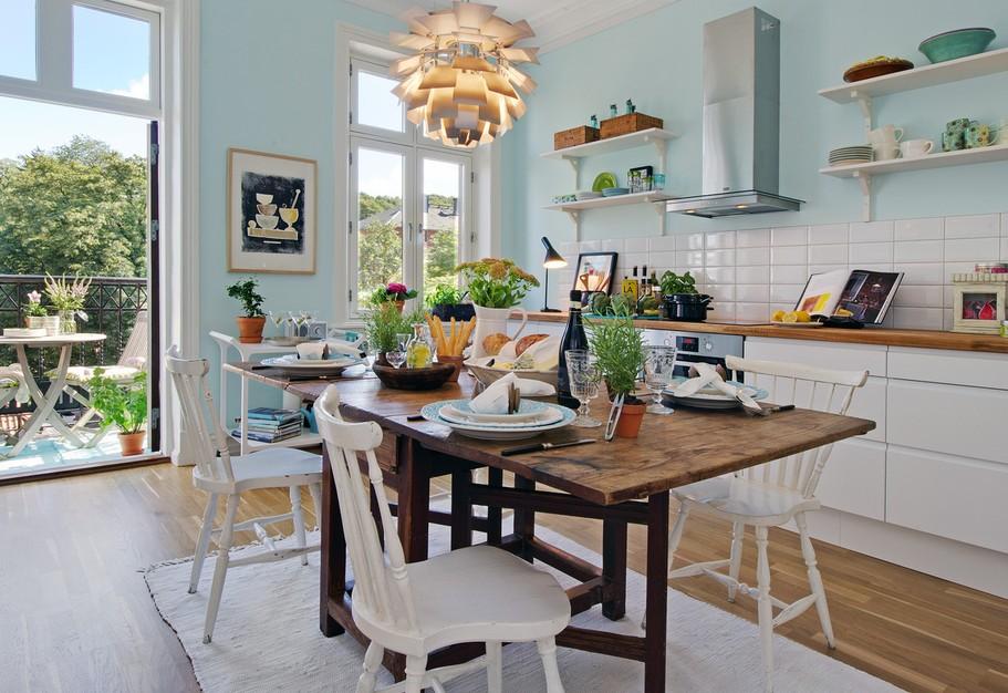 Gezelligheid Keuken : moois en liefs: Gezellige keukens