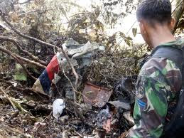 Foto Gambar Terbaru Kecelakaan Pesawat Sukhoi