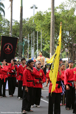 malioboro pencak festival red pencak
