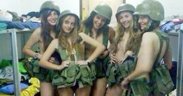 Unbecoming behaviour: 4 female Israeli soldiers get