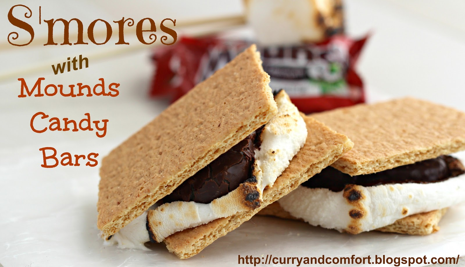 Kitchen Simmer: S'mores with Mounds Candy Bars