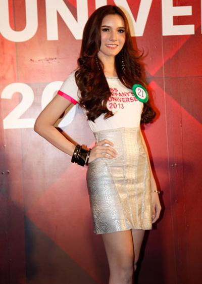 Khun Naetnapada 7 Tân hoa hậu chuyển giới Thái Lan 2013 đẹp rạng rỡ