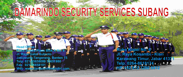 Perusahaan Outsourcing Security Subang