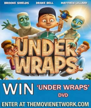 'Under Wraps' DVD Giveaway via The Movie Network!