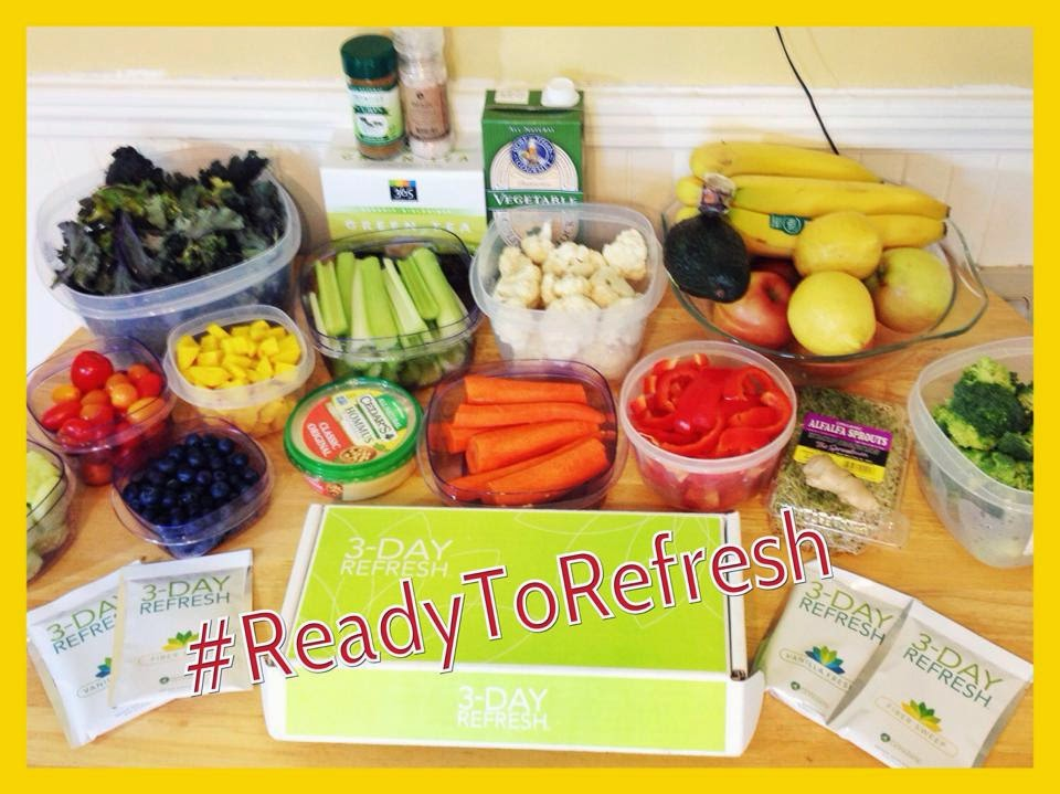 3 day refresh, Jaime messina, meal plan, clean eating, cleanse,