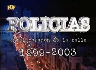 Imagen de despedida de Policías en el corazón de la calle, Antena 3