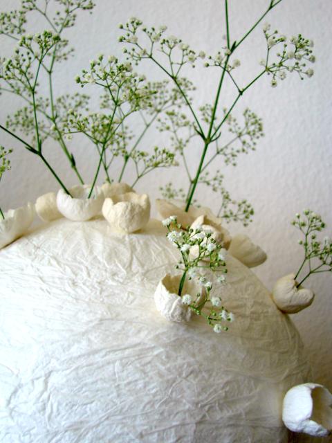 allestimento matrimonio ecologico: centrotavola