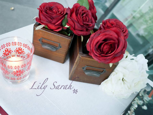 vintage style wedding decoration by Lily Sarah