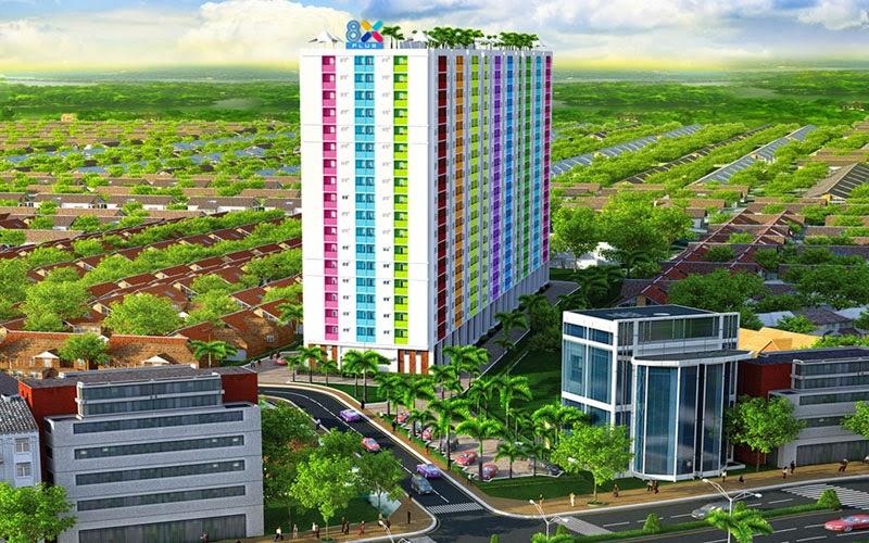 Bán căn hộ 8X Plus mặt đường Trường Trinh giá chỉ từ 12,3 triệu / m2