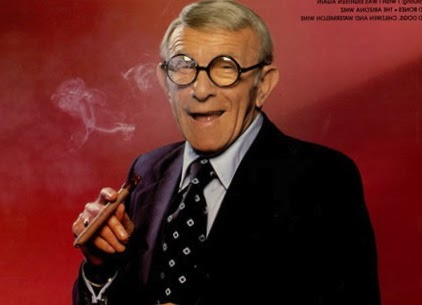 Image result for george burns smoking cigar