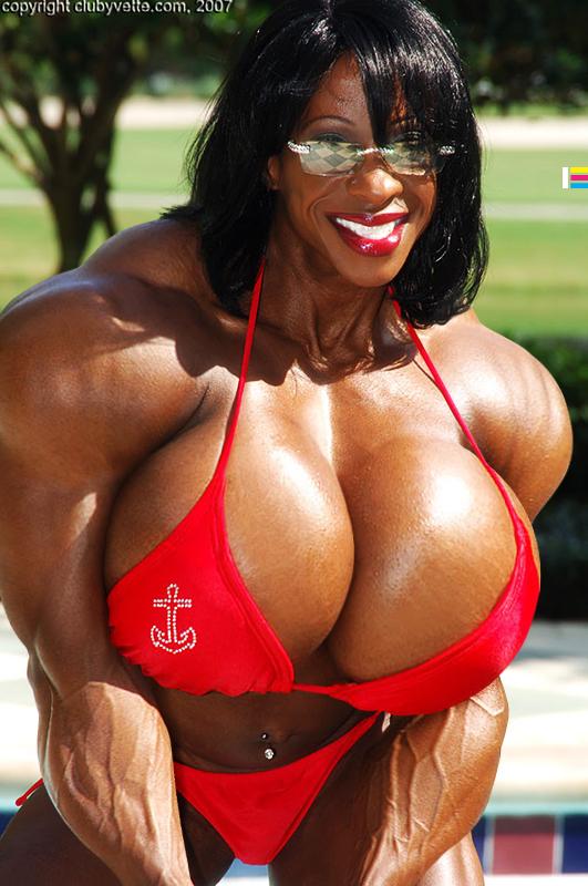 female bodybuilder yvonne porn