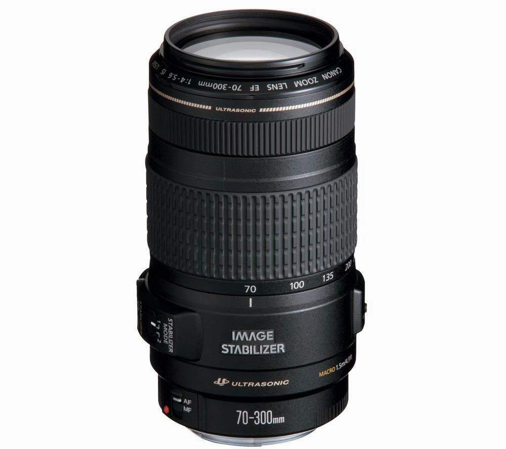 Harga dan Spesifikasi Lensa Canon EF 70-300mm f/4-5.6 IS USM Terbaru