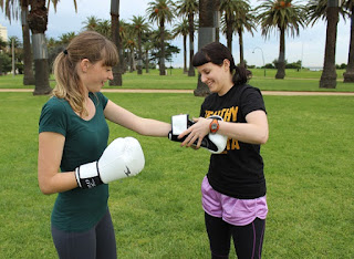 personal trainer melbourne Shelley Lask MuayThai MMA