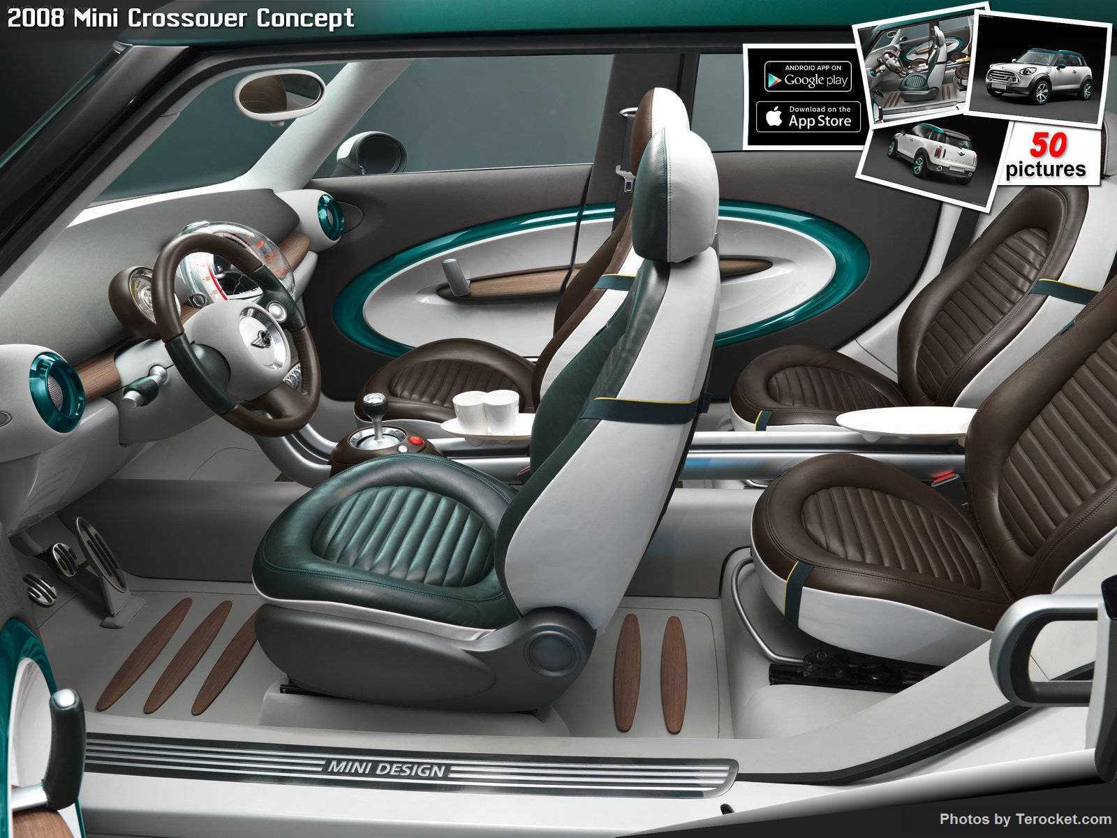 Hình ảnh xe ô tô Mini Crossover Concept 2008 & nội ngoại thất