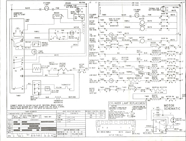 appliance talk kenmore series electric dryer wiring diagram schematic rh blog applianceoutletservice com wiring schematic for kenmore dryer electrical diagram for kenmore dryer