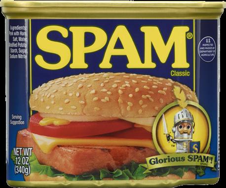 spam, ham,