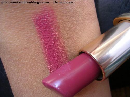 loreal color colour riche star secrets milas plum 748 reviews swatches lipsticks