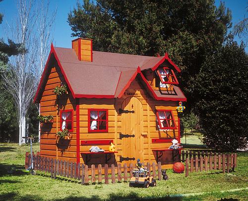 El blog de gcd casas de madera para for Casa jardin infantil