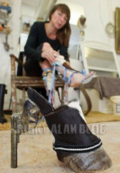 Inilah Sepatu-sepatu Unik Yang Terbuat Dari Bangkai Hewan [ www.BlogApaAja.com ]