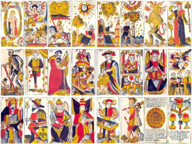 Les Secrets du Tarot  SIGNIFICATION DES ARCANES MAJEURS 9d4c2d143b10