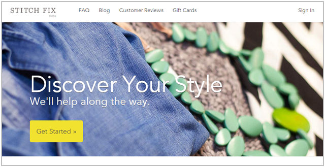 Stitch Fix Top Page