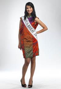 Miss Indonesia 2011 Papua Barat (Amanda Roberta Zevannya)