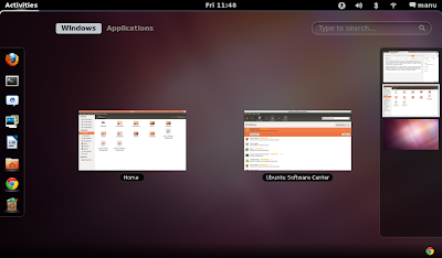 GNOME Shell Ubuntu 11.10