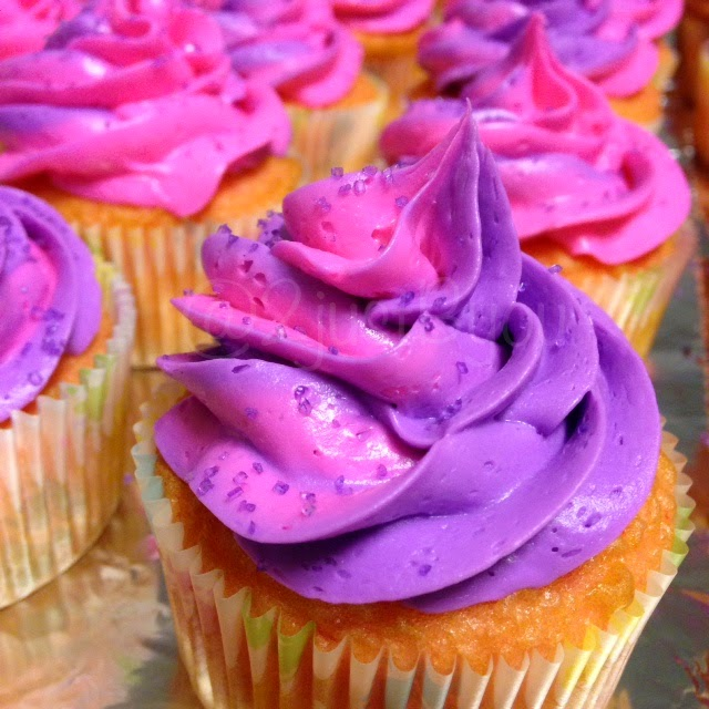 Purple U0026 Pink Baby Shower Desserts